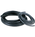 (1955-66)  Rear Glass Weatherstrip - Big Window - Black Lock Bead