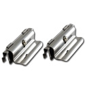 (1960-66)  Suburban Sliding Side Window Latch Assy - pr