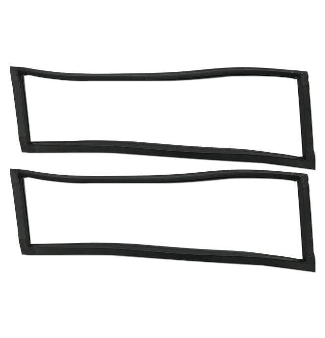 (1967-72)  Suburban Rear Side Door Fixed Weatherstrip - pr