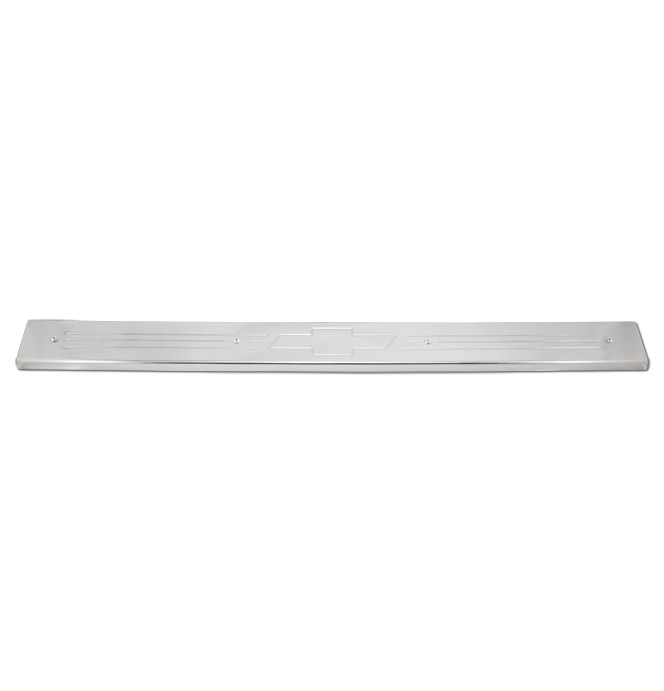 (1967-72) Rocker Panel Protector - Bowtie - Polished