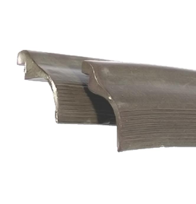 (1950-54)  Lower Cab Windlace Rubber - Gray / Tan