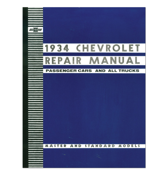 (1934)  Shop Manual - Chevrolet