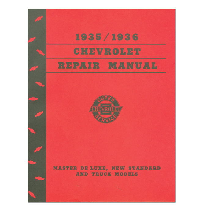 (1935-36)  Shop Manual - Chevrolet