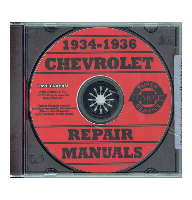 (1934-36)  Shop Manual - Chevrolet CD