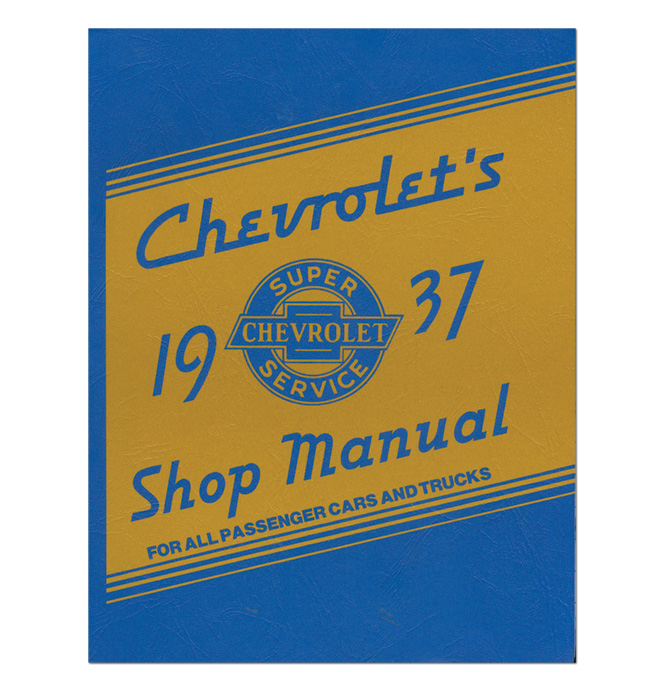 (1937)  Shop Manual - Chevrolet