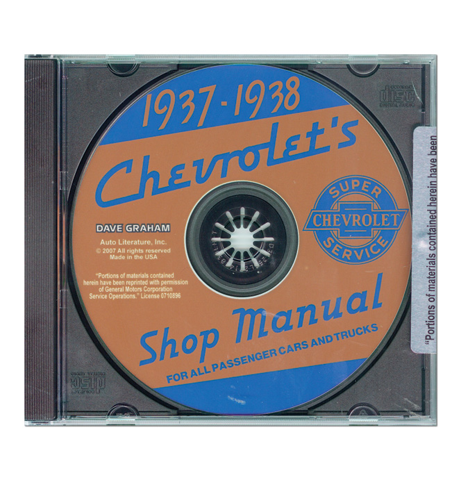 (1937-38)  Shop Manual - Chevrolet CD