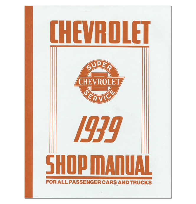 (1939)  Shop Manual - Chevrolet