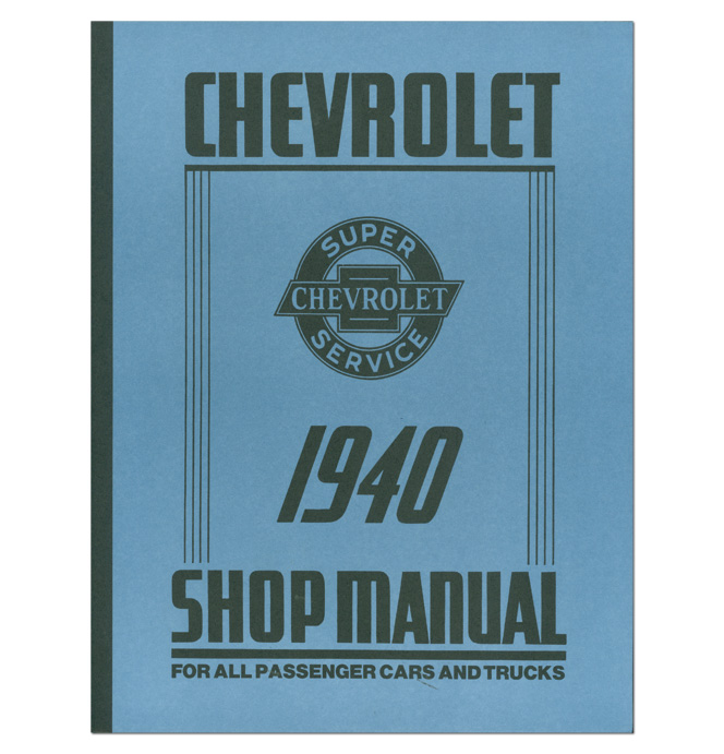 (1940)  Shop Manual - Chevrolet