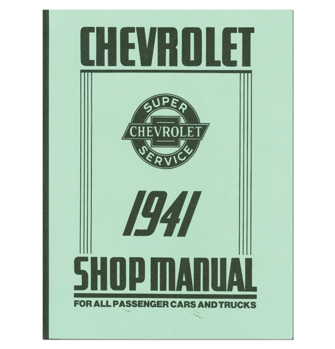 (1941)  Shop Manual - Chevrolet
