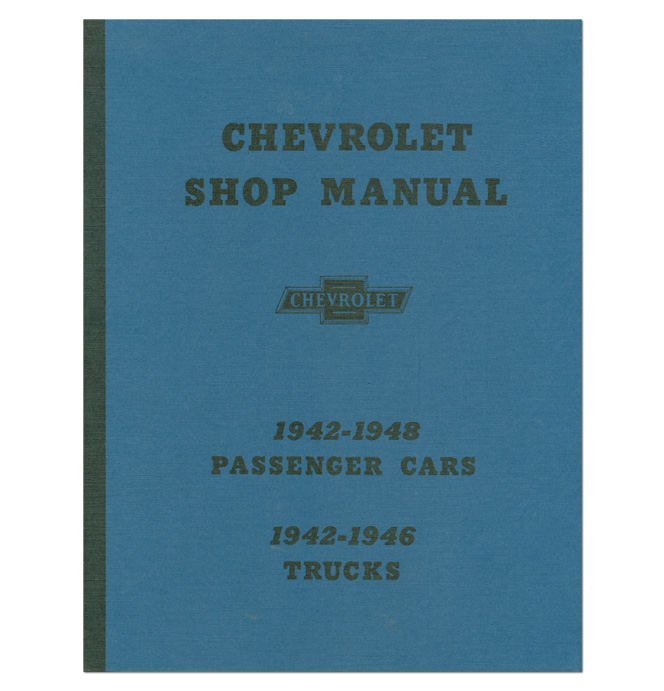 (1942-46)  Shop Manual - Chevrolet