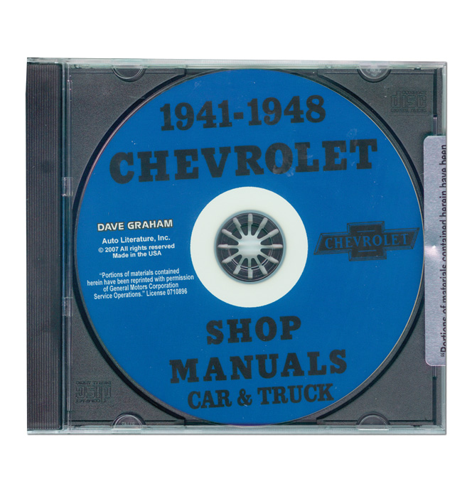(1941-46)  Shop Manual - Chevrolet CD