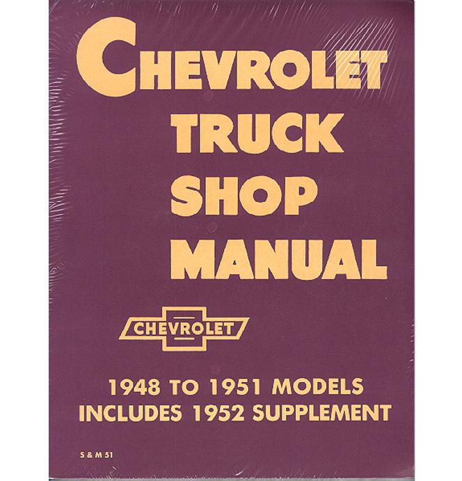 (1947-53)  Shop Manual - Chevrolet