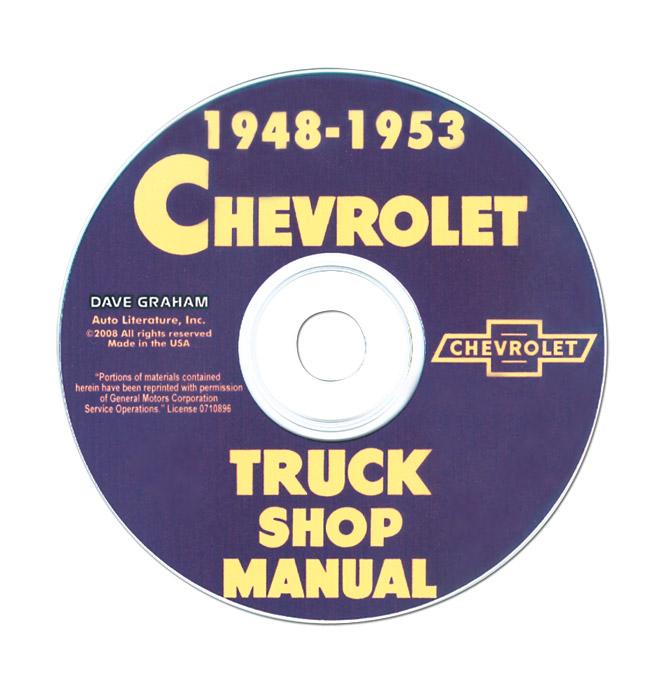 (1947-53)  Shop Manual CD - Chevrolet