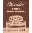 (1954)  Shop Manual - Chevrolet