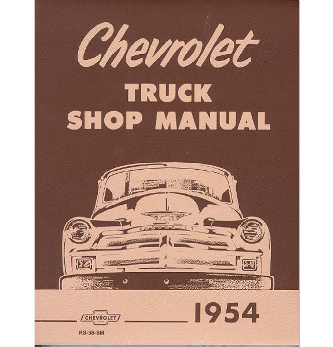 Shop Manual - Chevrolet-Classic Chevy Truck Parts