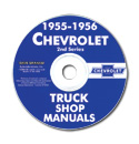 (1955-56)  Shop Manual CD - Chevrolet
