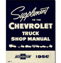 (1956)  Shop Manual Supplement - Chevrolet