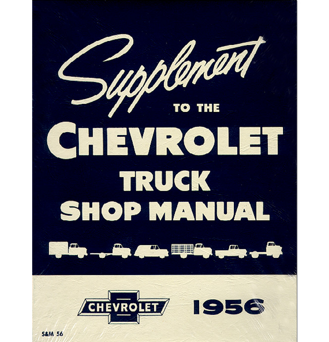 shop manual supplement chevy classic chevy truck parts rh classicparts com 1956 chevy shop manual 53 Chevy