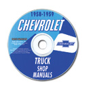 (1958-59)  Shop Manual CD - Chevrolet