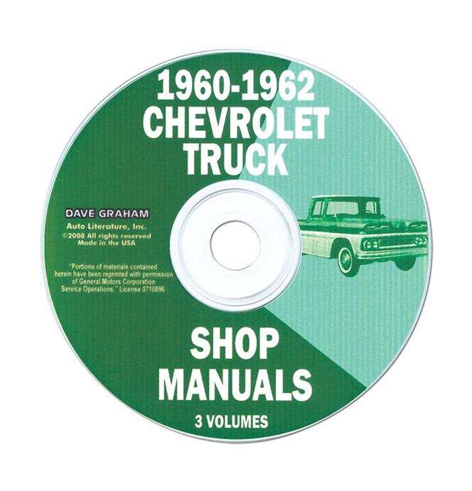 (1960-62)  Shop Manual CD - Chevrolet
