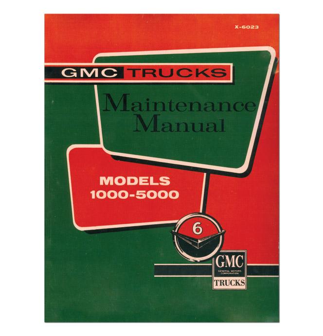 (1960-61)  Shop Manual - GMC