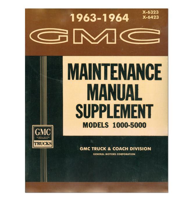 (1963-64)  Shop Manual - GMC