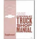 (1965)  Shop Manual Supplement - Chevrolet