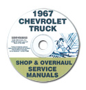 (1967)  Shop Manual CD - Chevrolet
