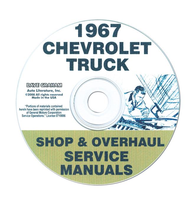 (1967)  Shop Manual CD - Chevrolet