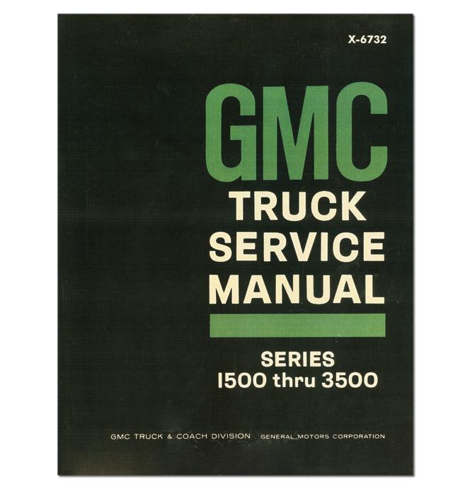 (1967)  Shop Manual - GMC