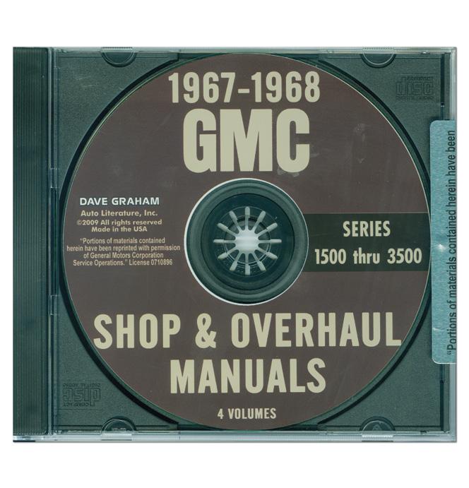 (1967-68)  Shop Manual CD - GMC