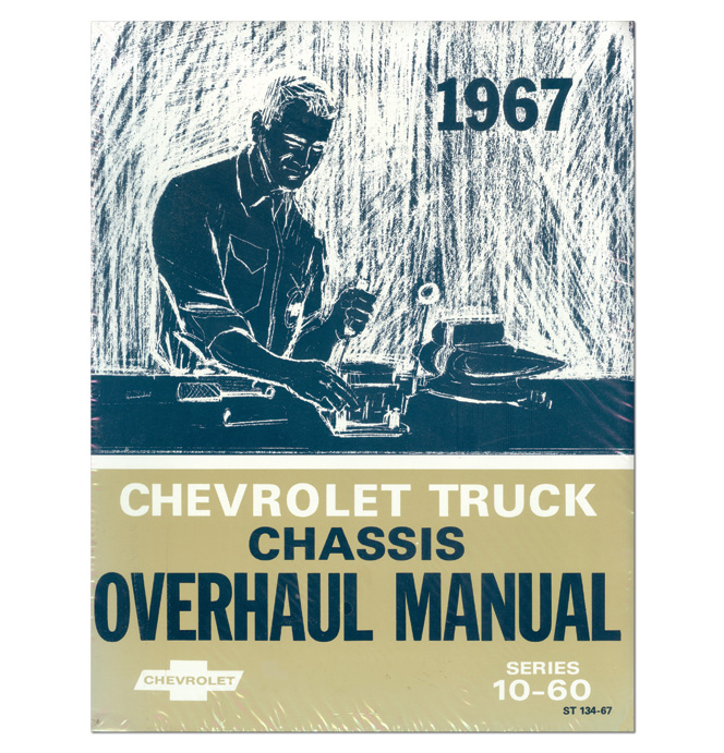 (1967)  Shop Chassis Overhaul Manual - Chevrolet