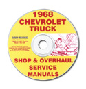 (1968)  Shop Manual CD - Chevrolet