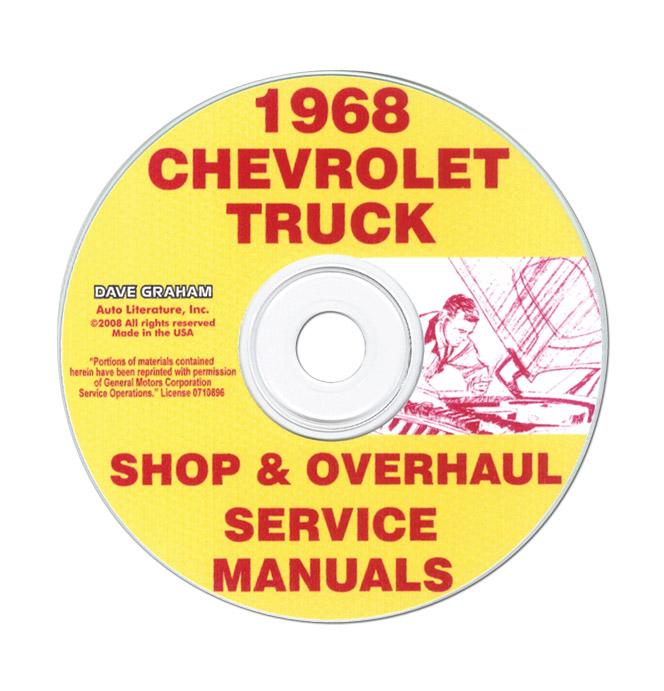 (1968)  Shop Manual CD - Chevrolet