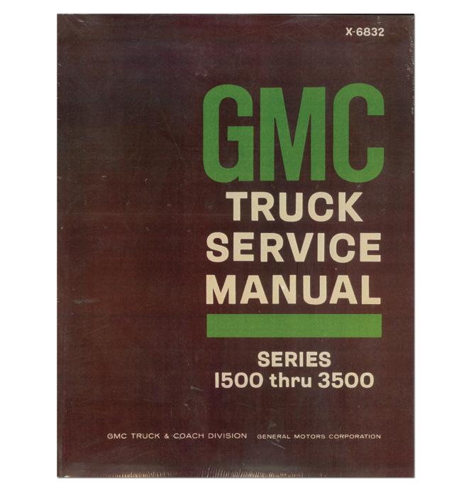 (1968)  Shop Manual - GMC