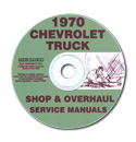 (1970)  Shop Manual CD - Chevrolet