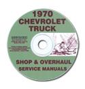 (1970)  Shop Manual CD - Chevrolet