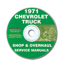 (1971)  Shop Manual CD - Chevrolet