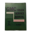 (1971)  Shop Manual - GMC