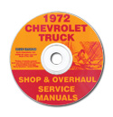 (1972)  Shop Manual CD - Chevrolet