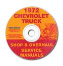 (1972)  Shop Manual CD - Chevrolet