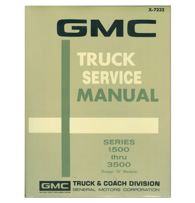 (1972)  Shop Manual - GMC