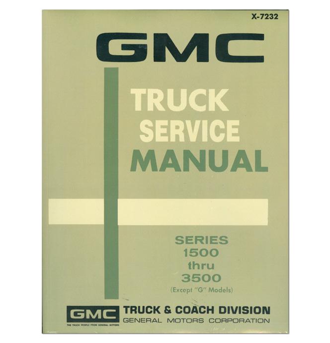 (1972)  Shop Manual - GMC