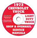 (1973)  Shop Manual CD