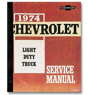 (1974)  Shop Manual