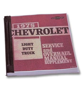 (1975)  Shop Manual-Supplement