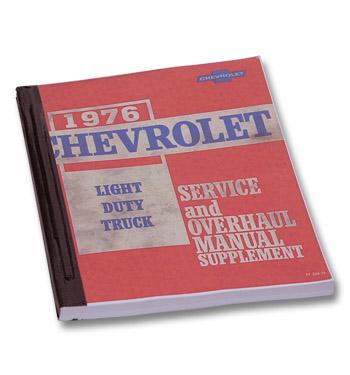 (1976)  Shop Manual-Supplement