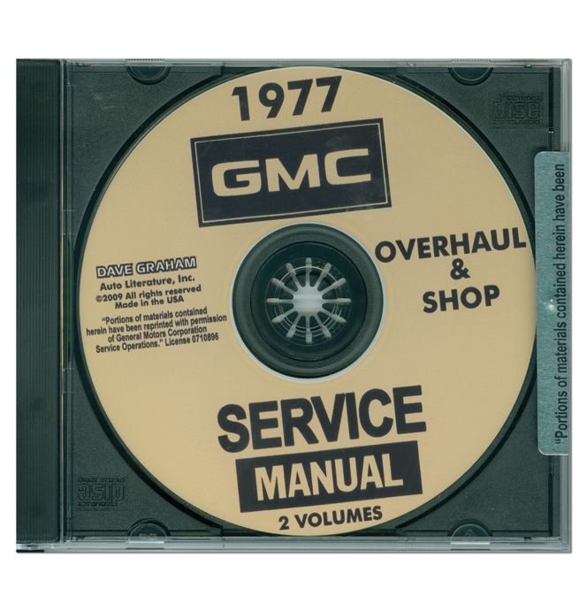 shop manual cd gmc americanclassic com gmc factory service manuals gmc factory repair manuals