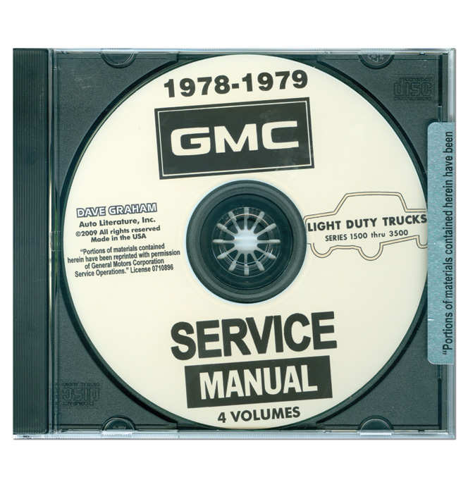 (1978-79)  Shop Manual CD - GMC