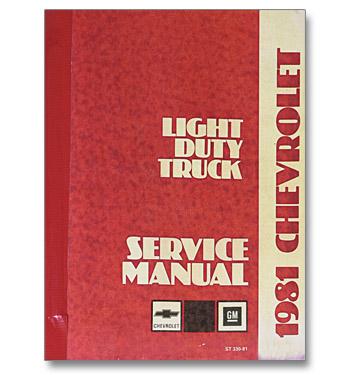 (1981)  Shop Manual